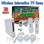 Οικονομική Διαδραστική Ασύρματη Κονσόλα Παιχνιδιών Τηλεόρασης 8bit