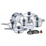 Αυθεντικά Μαγειρικά Σκευή Royalty Line - Σετ 16 τεμαχίων
