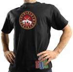 Μπλούζα με Στάμπα - Ρουλέτα που αναβοσβήνει