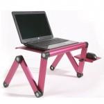 Πτυσσόμενο Τραπεζάκι Laptop Cooler με Βάση Mouse & 2 Ανεμιστήρες - Smart Foldable Τ8