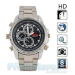 Spy Cam HD-DVR Watch 8GB - Κρυφή Κάμερα Κατασκοπευτικό Ρολόι