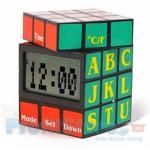Επιτραπέζιο Ρολόι με Ημερολόγιο Θερμόμετρο και Ξυπνητήρι - Rubik Clock