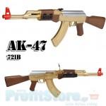 Αεροβόλο Όπλο Μοντελισμού Τύπου ΑΚ47 721B Assault Rifle