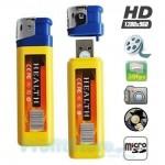 Κρυφή Κάμερα Καταγραφικό Αναπτήρας - Mini DVR Spy Camera Lighter- USB Stick