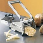 Επαγγελματικός Μεταλλικός Ανοξείδωτος Πατατοκόφτης - Potato Chipper Kitchen Helper