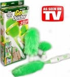 Περιστρεφόμενη Συσκευή Ξεσκονίσματος Go Duster με Επέκταση και Βάση Τοίχου
