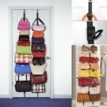 Κρεμάστρα για Τσάντες με 16 Θέσεις για Πόρτες ή Ντουλάπες BAG RACK