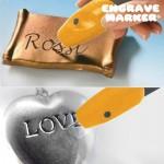Πολυχρηστικός Χαράκτης Engrave Marker για δημιουργίες σε ξύλο, γυαλί, μέταλλο, πλαστικό