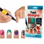 Πινέλα Νυχιών Με 6 Καταπληκτικά Χρώματα - Nail Art Pens