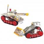 Nuts & Bolts Μεταλλικά Συναρμολογούμενα  Οχήματα - Μπουλντόζα και Άρμα Μάχης