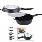 Διπλό Τηγάνι Double Frying Pan από Αλουμίνιο με Αντικολλητική Επικάλυψη