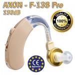 Ακουστικά Ενίσχυσης Ακοής & Βοήθημα Βαρηκοίας Axon F-138 Pro - 130dB