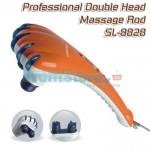 Ισχυρή Επαγγελματική Συσκευή Μασάζ με Δύο Κεφαλές
