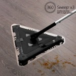 Επαναστατική Τριγωνική Επαναφορτιζόμενη Σκούπα 360 Tri-angle Sweeper X3