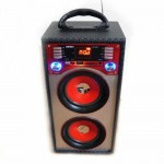 Φορητό Hχοσύστημα USB-SD Mp3 Multimedia Player Speaker - FM Radio