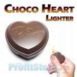 Αναπτήρας σε Σχήμα Καρδιάς Σοκολάτας