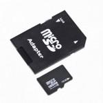 Κάρτα Μνήμης microSD SDHC 16GB με SD adapter Class 4