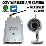 Ασύρματο Κιτ Παρακολούθησης με Αδιάβροχη Κάμερα Νυχτερινής Λήψης