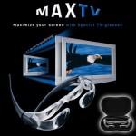 Γυαλιά Μεγέθυνσης 2.5Χ Max TV - Διπλασιάζουν το μέγεθος της τηλεόρασης