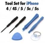 Σετ εργαλείων για κινητά τηλέφωνα και  iPhone 4 / 4S / 5 / 5c / 5s