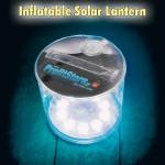 Φουσκωτό Ηλιακό Φανάρι Αδιάβροχο Αναδιπλούμενο με 10 LED