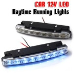 Προβολάκια LED Daytime Running Lights - Φώτα Ημέρας Αυτοκινήτου Σετ 2 τμχ