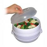 """Ατμομάγειρας Φούρνου Μικροκυμάτων """"Microwave Food Steamer"""""""