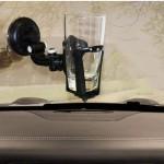 Ποτηροθήκη με Βεντούζα για το Αυτοκίνητο