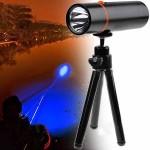 Ισχυρός Φακός LED 150 Lumens με Universal Τρίποδο