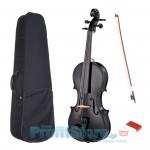 Κλασικό Βιολί 4/4 με θήκη μεταφοράς και δοξάρι - Shiny Black