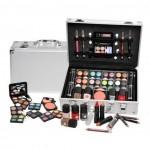 Βαλίτσα Ομορφιάς Magic Color από Αλουμίνιο με 52 Αξεσουάρ Μακιγιάζ