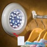 Τηλεχειριζόμενο Φωτιστικό Τοίχου Led Remote Light