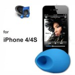 Φορητός Ενισχυτής Ήχου σε Σχήμα Αυγού για το iPhone 4/4S