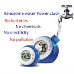 Ψηφιακό Ρολόι με Ανεξάντλητη Πηγή Ενέργειας: Το Νερό - Mini Water Clock