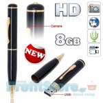 Κάμερα Στυλό Spy Pen για Βίντεο & Φωτογραφίες Υψηλής Ανάλυσης με μνήμη  8GB