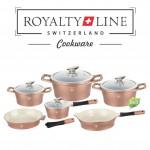 Αυθεντικά Μαγειρικά Σκεύη με Κεραμική Επίστρωση Royalty Line - Σετ 10 τεμαχίων