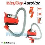 Ηλεκτρικό Σκουπάκι Αυτοκινήτου AutoVac Wet/Dry με Αξεσουάρ