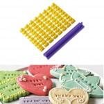 Σετ με Γράμματα για Απίθανα Message Cookies