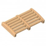 Ποδομασάζ Ξύλινο με 12 Κυλίνδρους για απόλυτη χαλάρωση