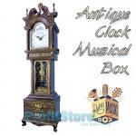 Εντυπωσιακό Επιτραπέζιο Ρολόι Αντίκα με Εκκρεμές - Μουσικό Κουτί.