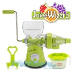 Αποχυμωτής Πρέσσα Juice Wizard Slow Juicer για Φρούτα και Λαχανικά
