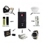Ανιχνευτής Υποκλοπών από Κινητά Τηλέφωνα, Κάμερες, Κοριούς, Πομπούς 1-6500Mhz CC308+