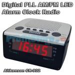Επιτραπέζιο Ρολόι LED με Ψηφιακό Ραδιόφωνο & Διπλό Ξυπνητήρι