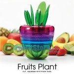 Σετ Αποχυμωτής - Πολυκόφτης - Τρίφτης Φρούτων & Πολυεργαλείο Κουζίνας 10 σε 1 - Fruits Plant