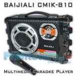 Φορητό Ηχοσύστημα USB/SD Karaoke Mp3 Player - Multimedia Speaker BAIJIALI CMIK-B10
