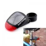 Επαναφορτιζόμενο Πίσω Φως Ποδηλάτου Με Ηλιακό Συλλέκτη