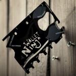 Πολυεργαλείο Πορτοφολιού Ninja 18 σε 1 σε Μέγεθος Πιστωτικής Κάρτας
