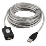Ενεργή Προέκταση USB 5m Active USB 2.0 Repeater Extension Cable