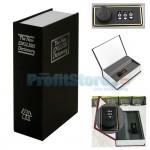 Μεταλλικό Πολυτελές Βιβλίο Χρηματοκιβώτιο Ασφαλείας με Συνδυασμό - Book Safe Dictionary
