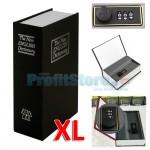 Μεταλλικό Πολυτελές Βιβλίο Χρηματοκιβώτιο Ασφαλείας με Συνδυασμό - Book Safe Dictionary XL